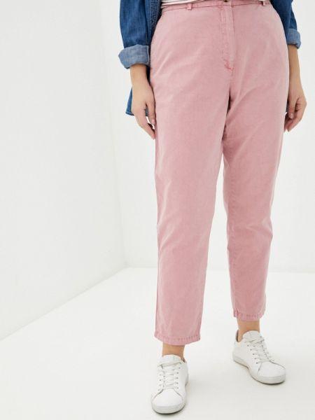 Розовые брюки с воротником Marks & Spencer