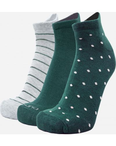 Зеленые хлопковые носки Duna