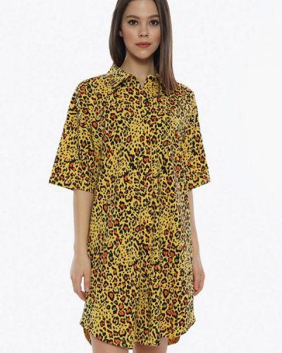 Домашний халат - желтый Vienetta