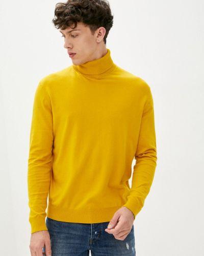 Желтая водолазка United Colors Of Benetton
