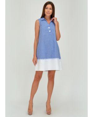 Летнее платье платье-сарафан с воротником Viserdi