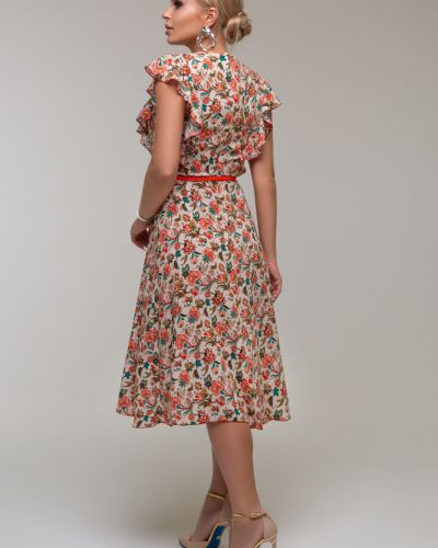 Платье с оборками на молнии Петербургский Швейный Дом