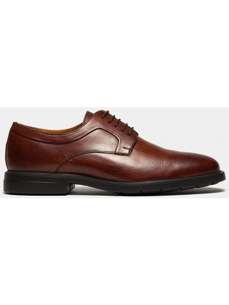 Кожаные коричневые деловые туфли Ralf Ringer