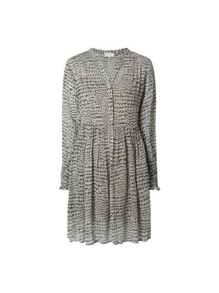 Sukienka mini rozkloszowana z długimi rękawami z wiskozy Levete Room
