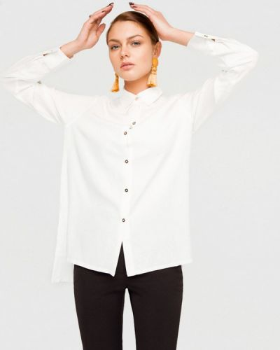Блузка белая Solou