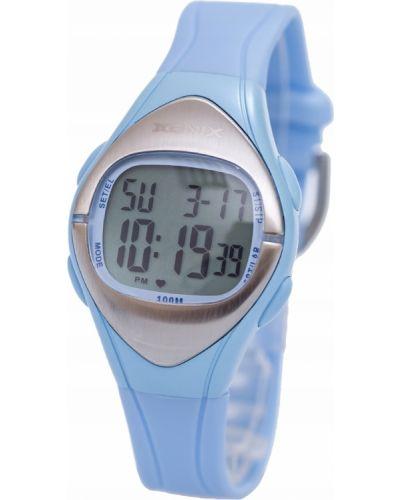 Niebieski zegarek sportowy silikon Xonix