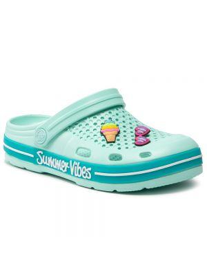 Zielone sandały Coqui