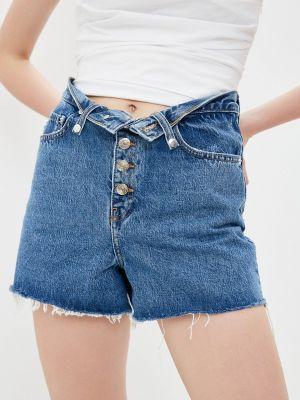 Синие джинсовые шорты The Kooples