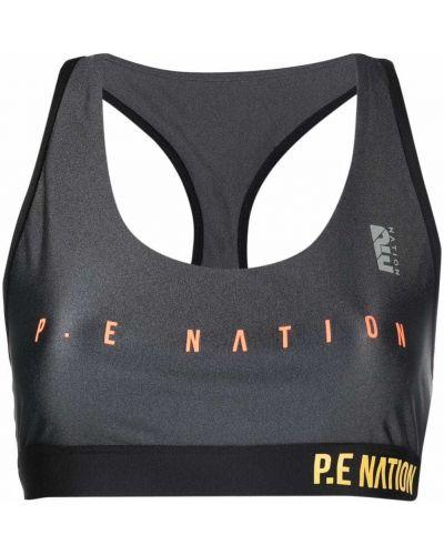 Спортивный бюстгальтер - серый P.e Nation
