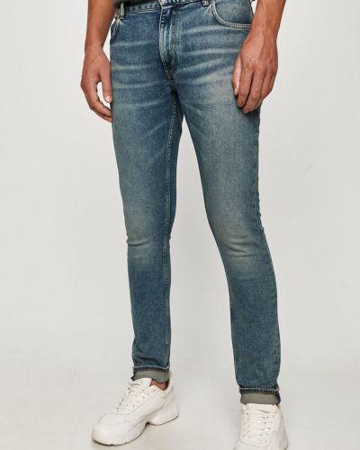 Niebieskie jeansy bawełniane Tommy Hilfiger