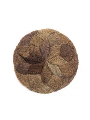 Brązowy beret wełniany Art Of Polo