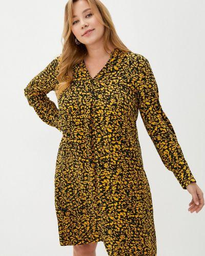 Повседневное желтое платье Samoon By Gerry Weber