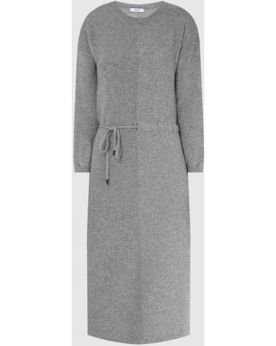 Шелковое платье миди - серое Peserico