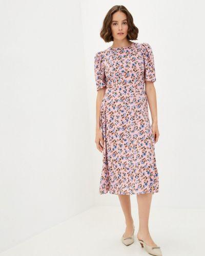 Прямое розовое платье Trendyangel