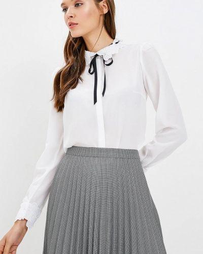 Белая блузка с бантом Zarina