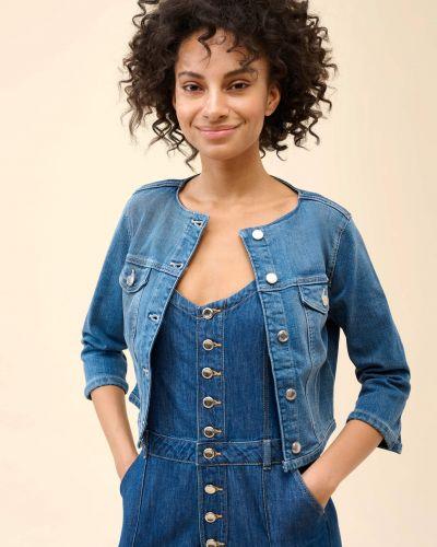 Kurtka jeansowa - niebieska Orsay