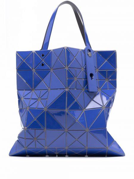 Niebieska torebka skórzana Bao Bao Issey Miyake