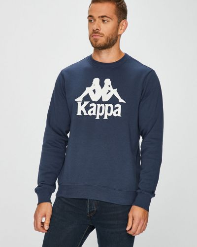 Кофта с капюшоном с принтом Kappa