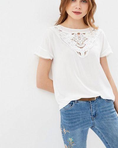 Блузка с коротким рукавом белый Only