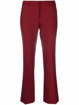 Укороченные брюки - красные Pt01