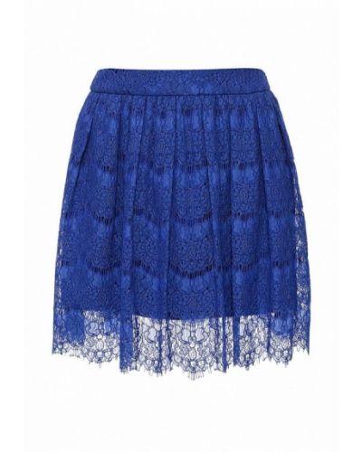 Синяя юбка весенняя La Coquette