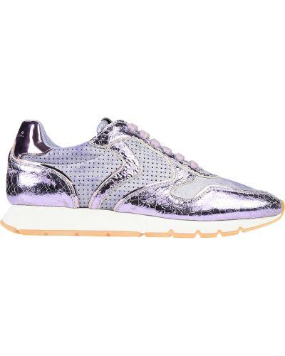 Фиолетовые кроссовки Voile Blanche