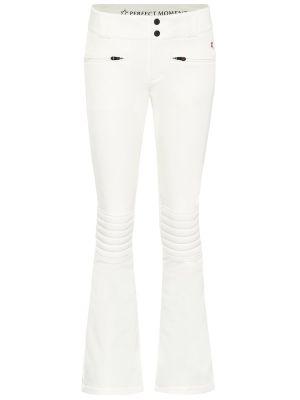 Свободные брюки расклешенные белые Perfect Moment