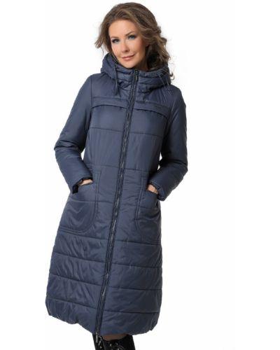 Длинное пальто с капюшоном с воротником на молнии Dizzyway