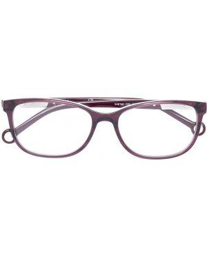 Розовые очки прямоугольные Ch Carolina Herrera