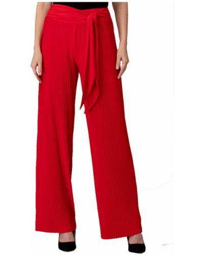 Czerwone spodnie na lato Joseph Ribkoff
