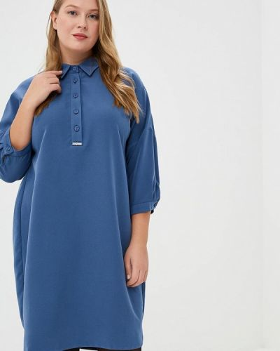 Платье платье-рубашка осеннее Max&style