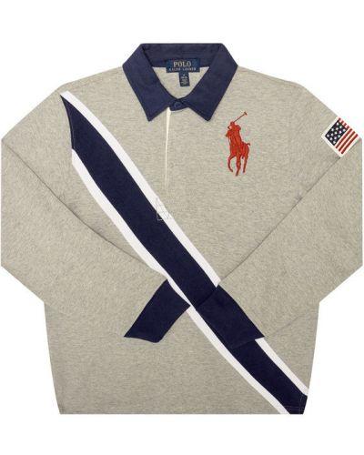 Szare polo Polo Ralph Lauren