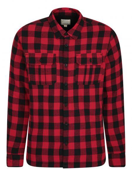 Flanelowa koszula Mountain Warehouse