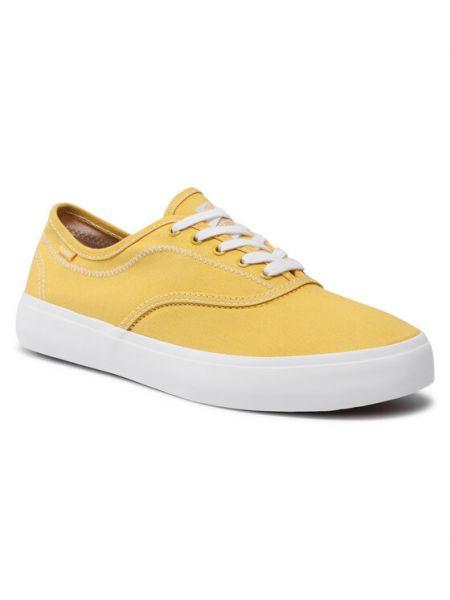 Tenisówki - żółte Element