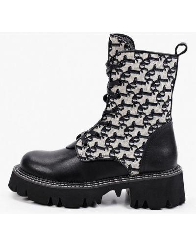 Черные текстильные ботинки Wilmar