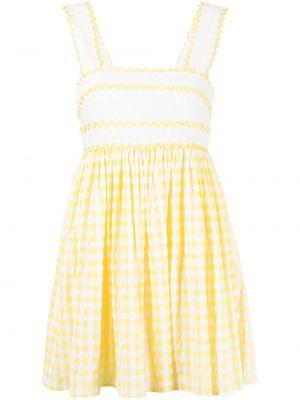 Платье мини с вырезом - желтое Alice Mccall