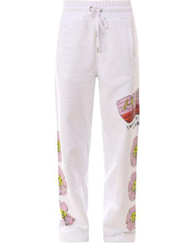 Białe spodnie Gcds