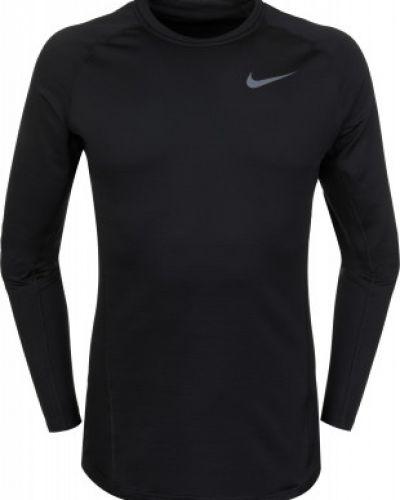 Футболка с длинным рукавом спортивная черная Nike