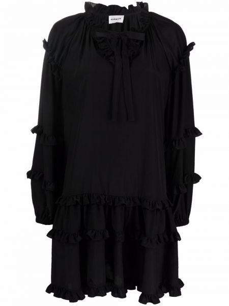 Черное платье макси трапеция P.a.r.o.s.h.