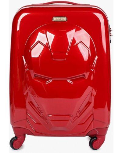 Красная сумка Samsonite