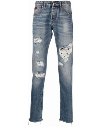 Прямые джинсы классические - синие John Richmond