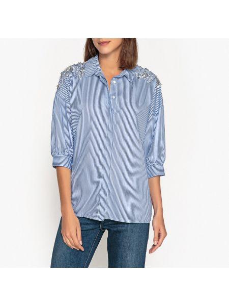 Рубашка в полоску хлопковая Essentiel Antwerp