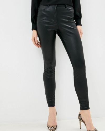 Черные кожаные брюки Dorothy Perkins