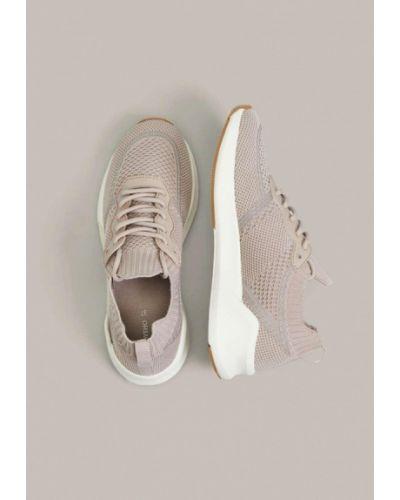 Розовые кроссовки Oysho