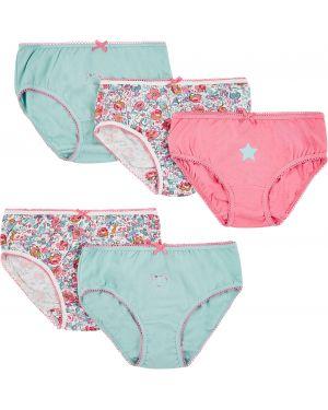Трусы бирюзовый розовый Mothercare