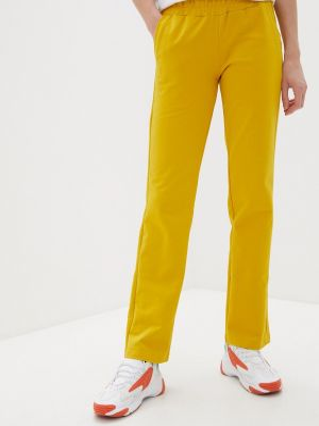 Спортивные брюки весенний желтый Mana