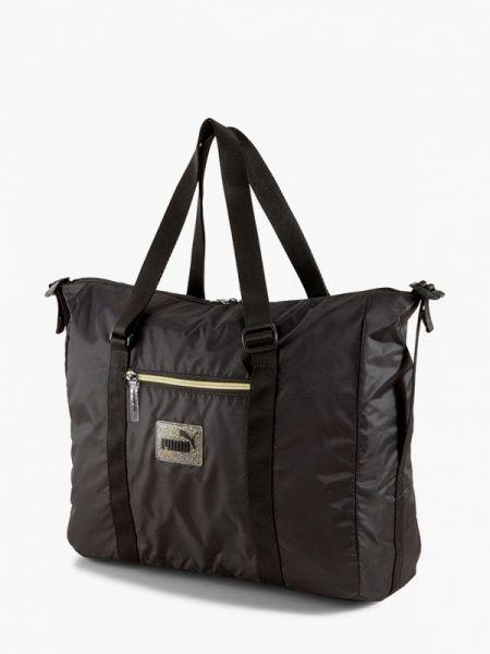 Спортивная сумка черная весенний Puma