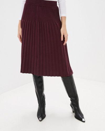 Красная плиссированная юбка Marytes