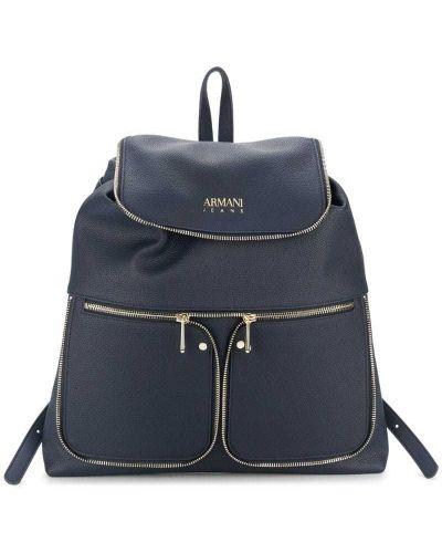 Рюкзак с откидным клапаном на молнии Armani Jeans