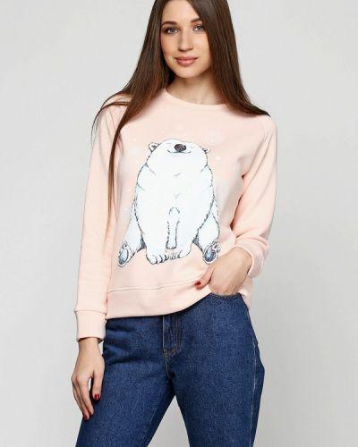 Толстовка розовый Mascot